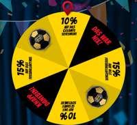 10% Rabatt auf Alles, 15% Rabatt auf Fußballartikel oder gratis Fußball ab 10€ Bestellwert im Glücksrad bei SportSpar