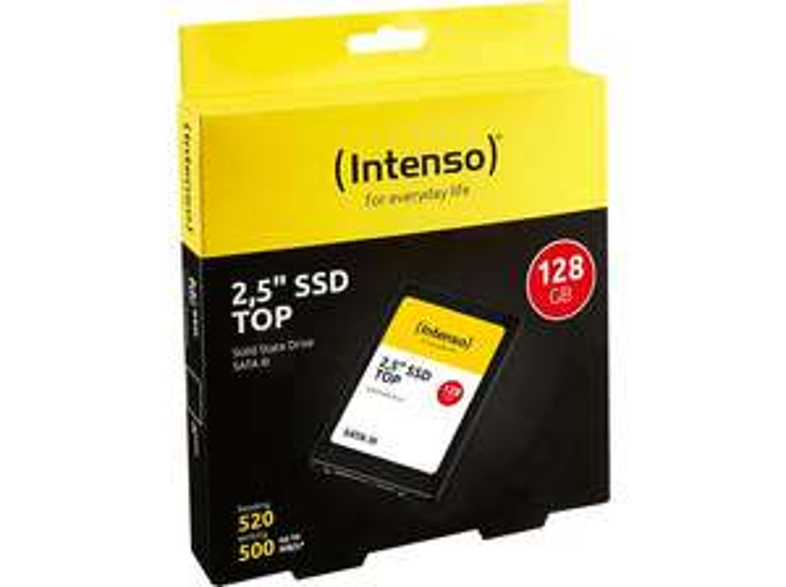 INTENSO 128GB SSD 2,5 Zoll intern für 14,39€ bei Media Markt/Saturn Abholung o. Amazon Prime