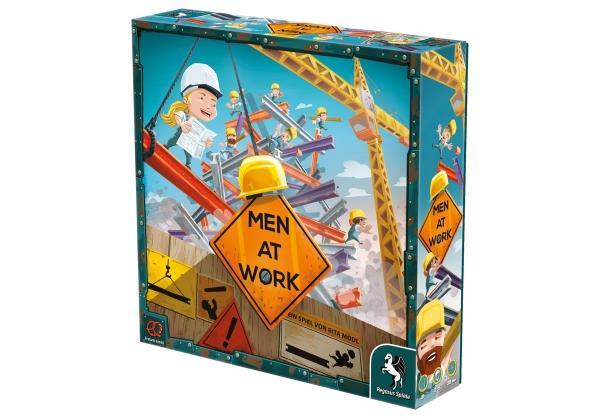 Geschicklichkeitsspiel: Men at Work (Pretzel Games) (7,3 BGG, 4,9 Sterne Amazon)