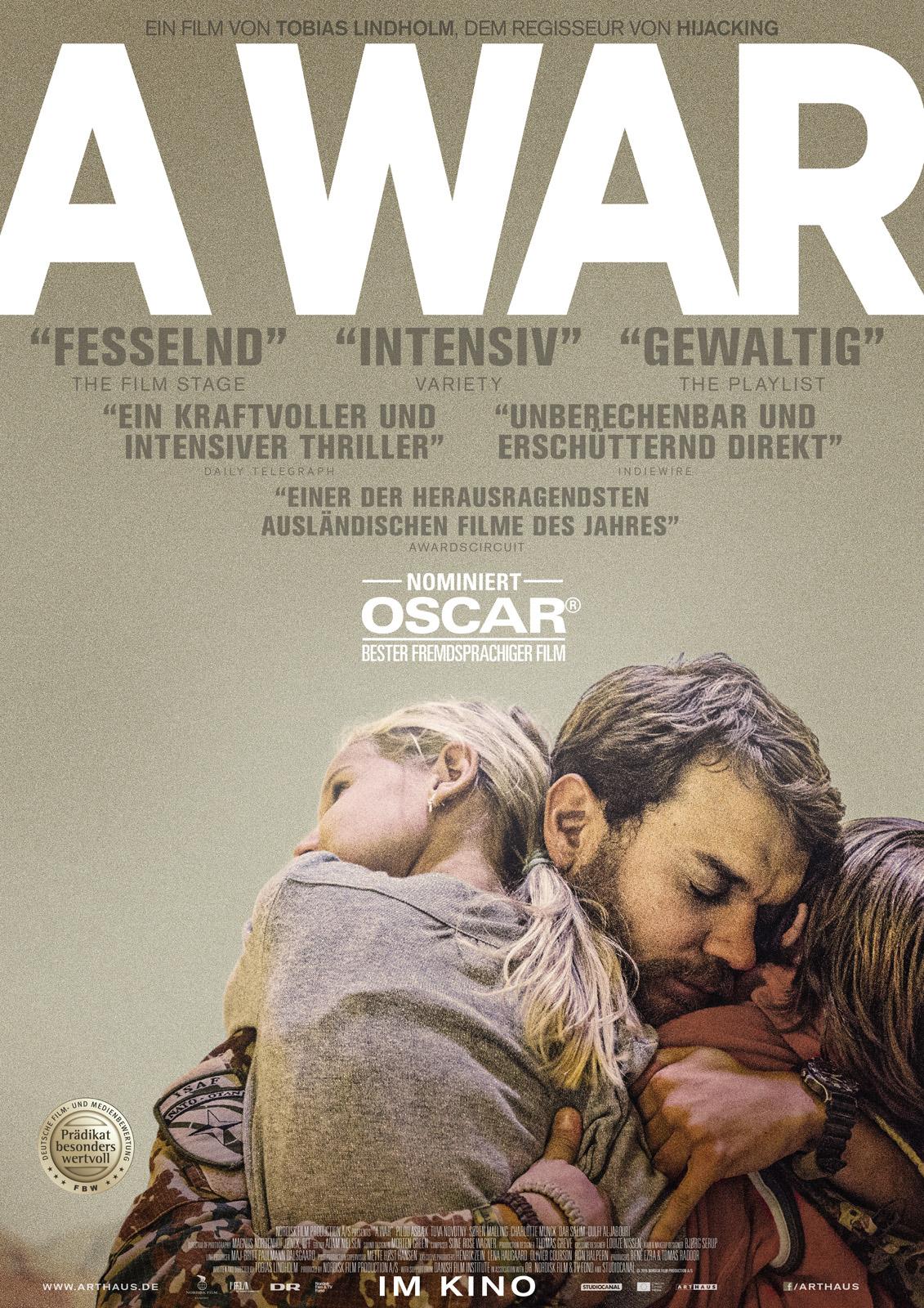 A War - Oscarnominiertes Drama aus Dänemark kostenlos im Stream (SRF)