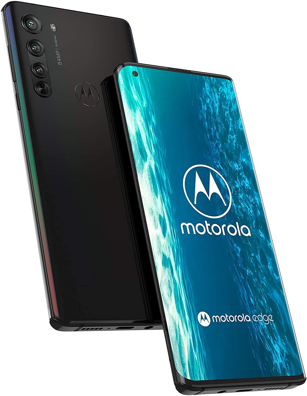 "Motorola Moto Edge 5G 6,67"" FHD+ AMOLED Dual-SIM Smartphone 6/128GB (4.500 mAh, Snapdragon 765, 325K Antutu, 64MP Quad-Cam, USB-C, NFC)"