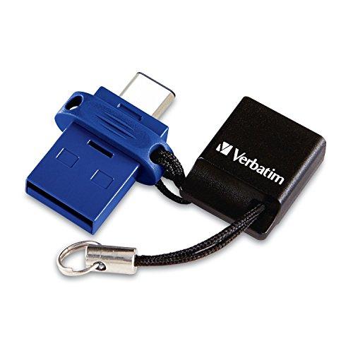 Verbatim Dual USB-Stick Type-C/USB 3.0 - 32 GB (Prime)