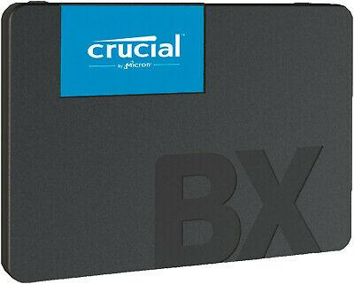 Crucial BX500 2TB SSD (bis zu 540 MB/s, 3D NAND, SATA, 2,5-Zoll) [eBay Saturn]