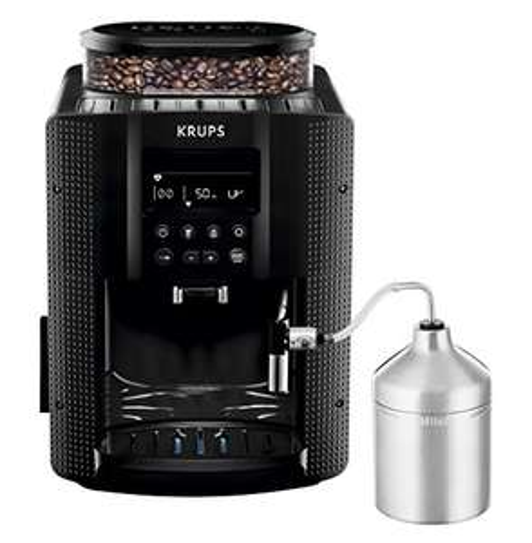 [Amazon] Krups EA8160 Kaffeevollautomat (1450 Watt, 1,8 Liter, 15 bar, LC Display, Cappuccinatore) schwarz