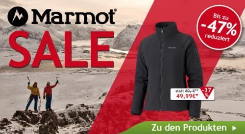 Marmot Artikel bis zu 47% bei Campz.de reduziert