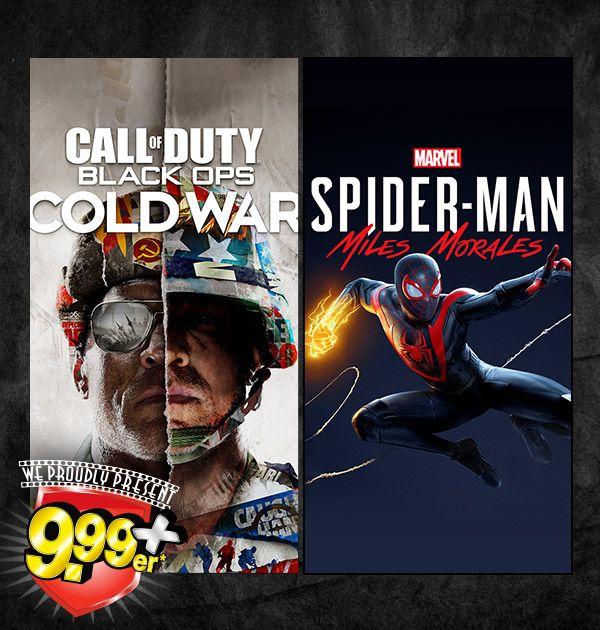 Assassin's Creed Valhalla, Spiderman Miles Morales oder CoD Black für 30€ (Playstation 4, Playstation 5, XBox Series X) @Gamestop