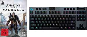 Logitech G915 TKL Linear Tastatur + Assassin's Creed Valhalla (PC)