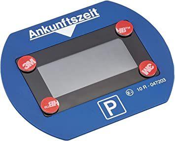 [Amazon Prime] Needit Park Lite 1411 Vollautomatische Parkscheibe, Blau