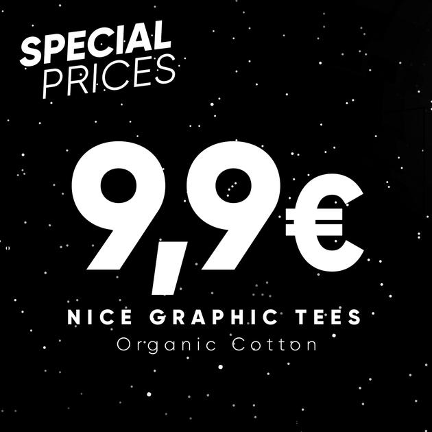 Wituka Special Prices – Ausgewählte T-Shirts für 9,90 €, kostenloser Versand ab 25 € + 20 % zusätzlicher Rabatt