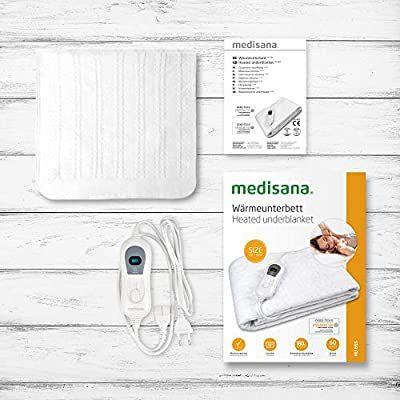 Medisana HU 665 Wärmeunterbett, Abschaltautomatik, Überhitzungsschutz, 150x80, Amazon Prime
