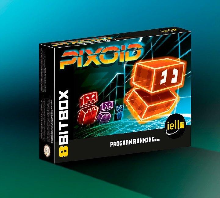 8Bit Box (Brettspiel, Gesellschaftsspiel, Retrogaming, SNES Style)