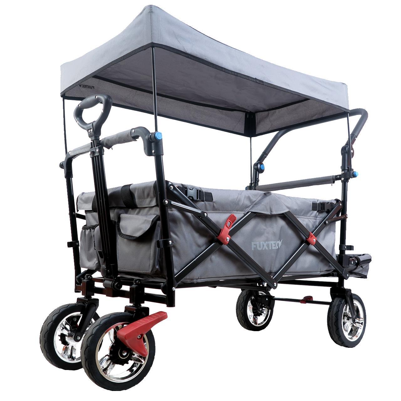 (online @FUXTEC) Bollerwagen FX-CT800 als B-Ware mit UV-geschütztem Sonnendach,Schiebegriff & Innenraumverlängerung - 109€