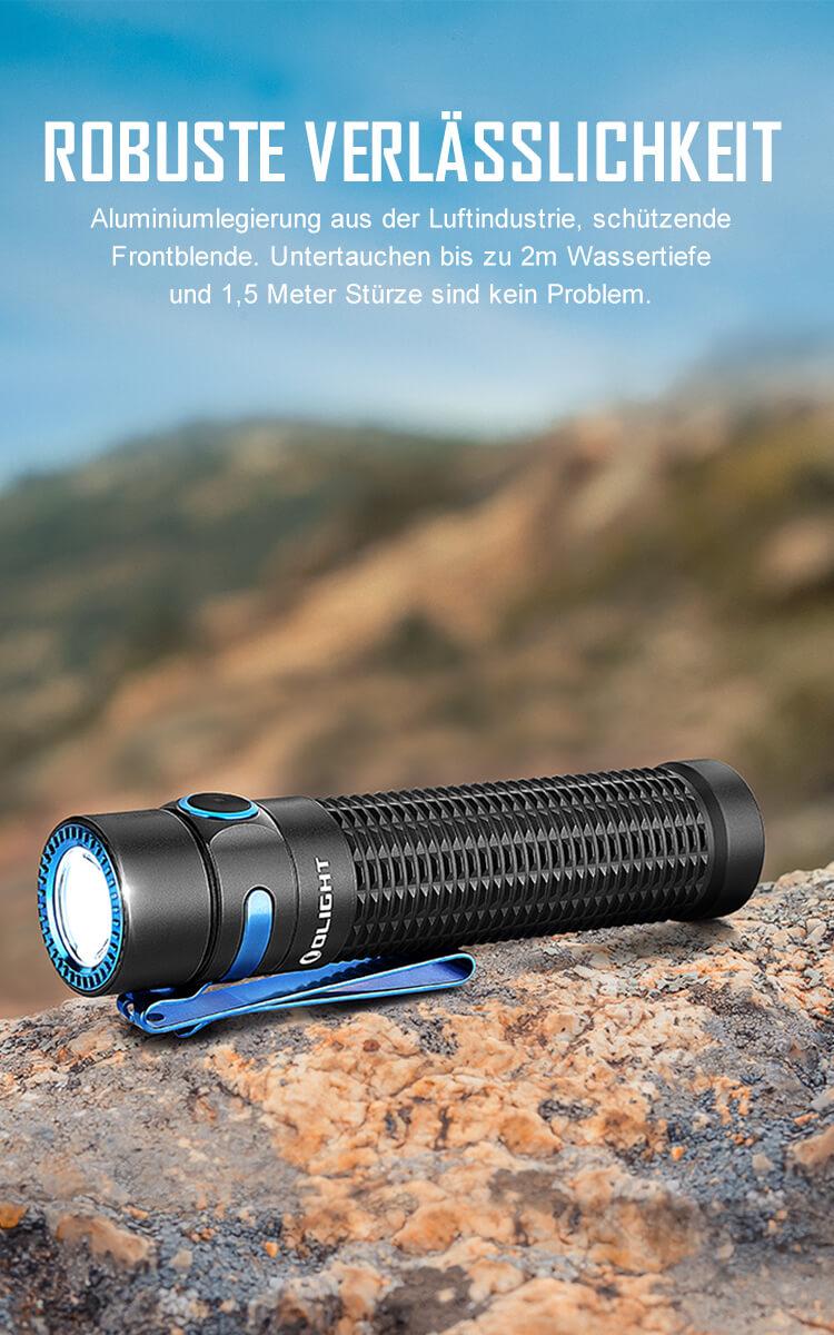 Olight Warrior Mini für 65,47€ oder die Seasons (Limited Edition) für 93,22€ | taktische Taschenlampe mit 1500 Lumen