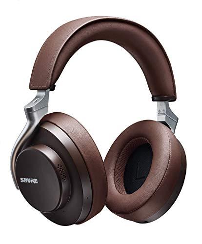 Shure Aonic 50 (Bluetooth 5.0, AAC, aptX HD/LL, LDAC, Over-Ear, aktive Geräuschunterdrückung, USB-C, ~20h Akku, Kabelbetrieb optional, App)