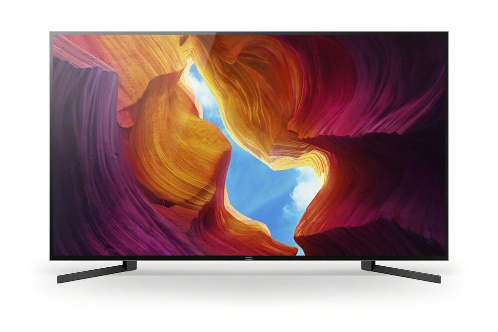 Heimkino für alle! Sony KD-85XH9505 Full Array LED TV (85 Zoll (215 cm), 4K UHD, Smart TV, Twin Triple Tuner, HDR, Sprachsteuerung)