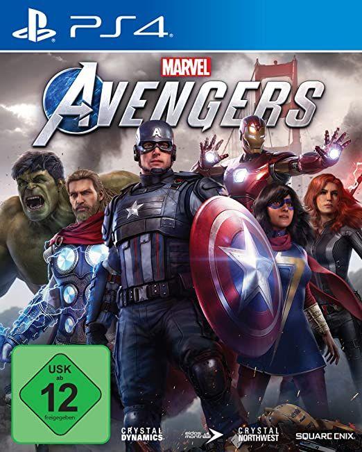 Avengers PS4 Amazon