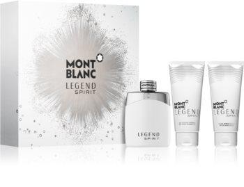 Ein paar Duft-Geschenksets im Angebot, zB Montblanc Legend Spirit Set (EdT 100ml, SG 100ml, ASB 100ml) für 48,55€