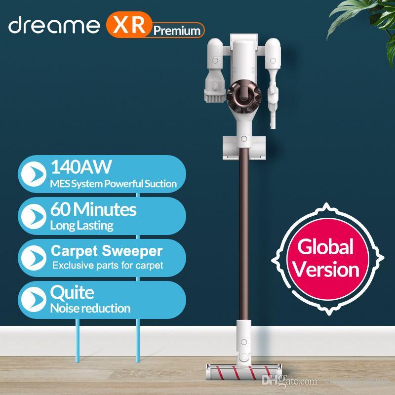 Dreame XR Stielstaubsauger (450W, 3 Stufen bis 22.000pa, bis 60min Akkulaufzeit, 5-fach-Filtersystem, inkl. Wandhalterung & Aufsätzen)