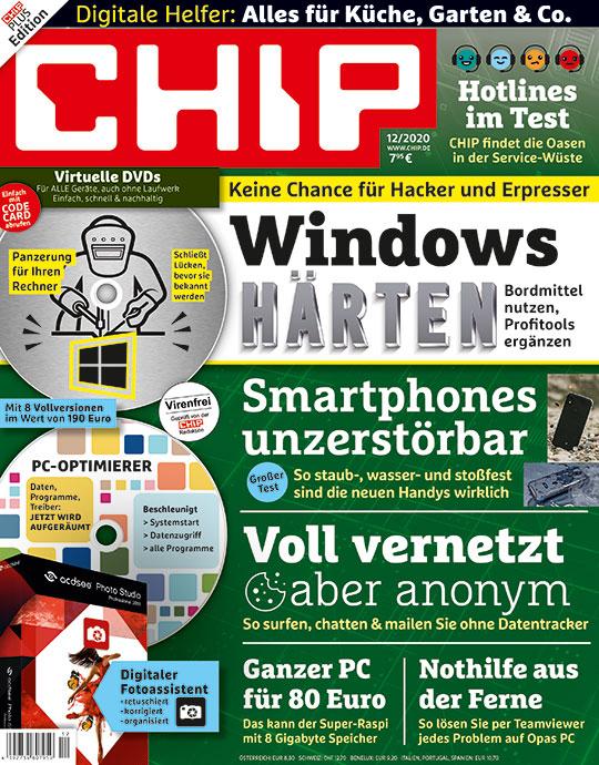 [CHIP] 4 Ausgaben CHIP Plus für nur 15,50 €