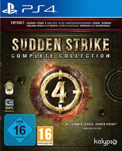 Sudden Strike 4: Complete Collection (PS4) [Amazon Prime]