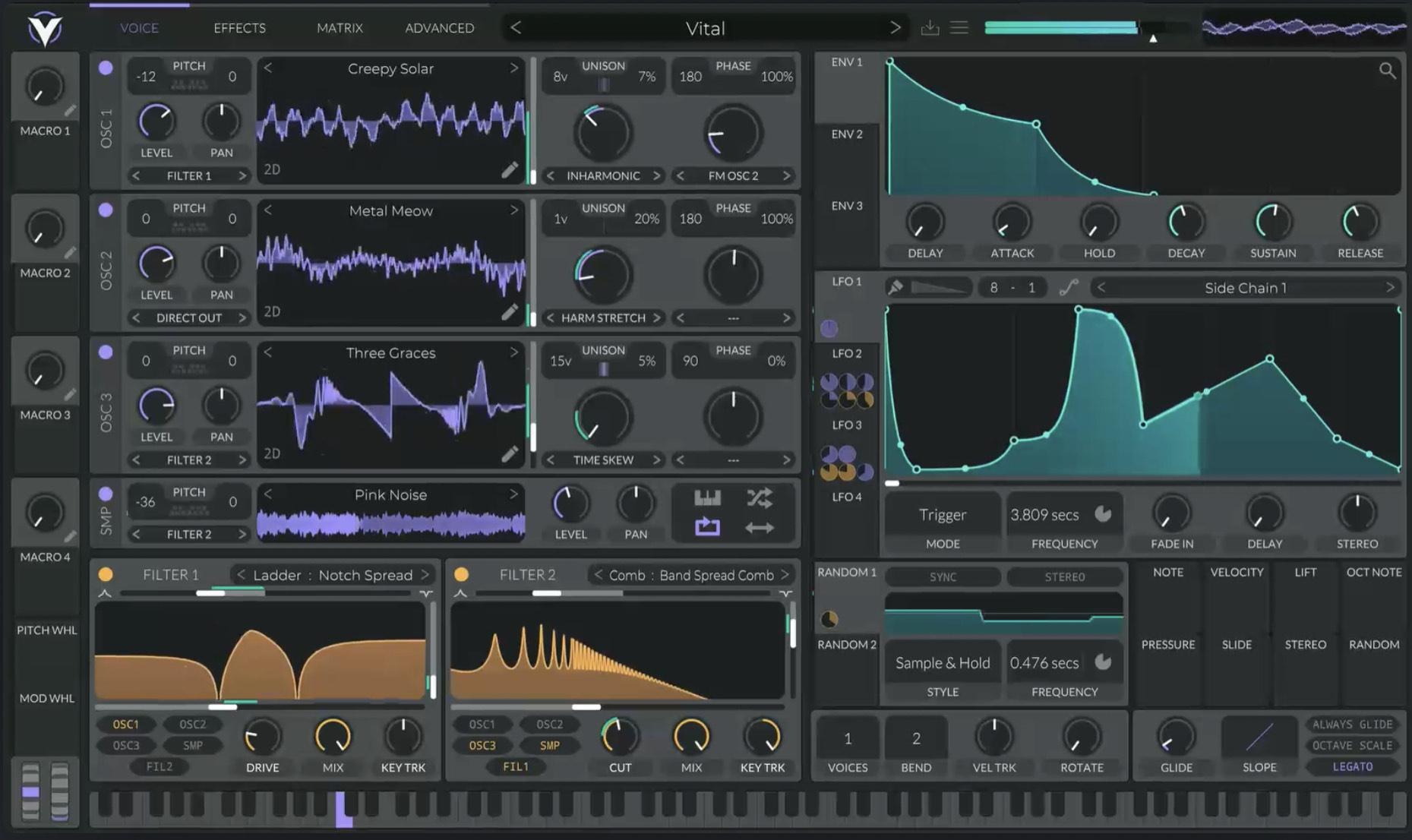 Vital Wavetable Synth VST Plugin nur noch Heute bis 23:59