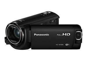 [Amazon.it] Panasonic HC-W580EG-K Full HD Camcorder (Full HD, 50x opt. Zoom, 2,2 MP BSI Sensor, 28 mm Weitwinkel, 5-Achsen Bildstabilisator)