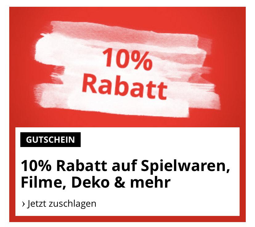 10% Rabatt auf viele Artikel auf bol.de