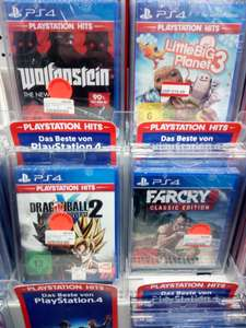 [LOKAL] Media Markt Berlin - PS4 Far Cry 3, Wolfenstein: The New Order, Resident Evil 6