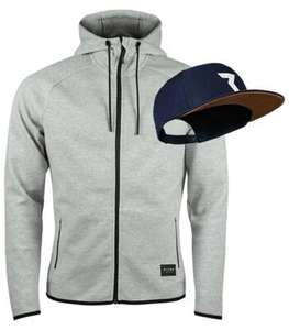 Ryzon Recharged Fuel Hooded Jacket Men und Aura Performance Snapback Cap Icon