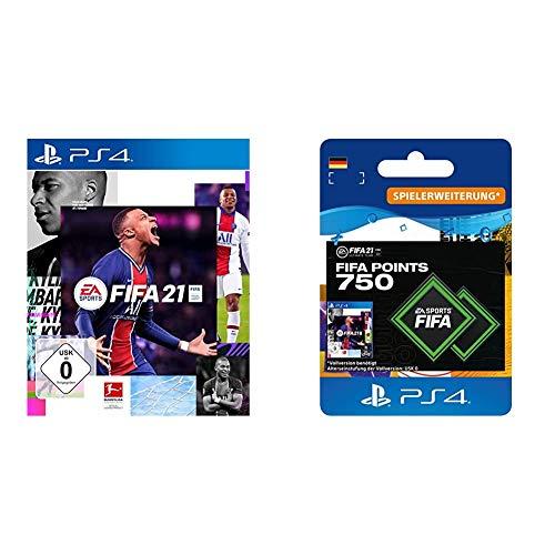 Fifa 21 + 750 points Xbox PS4 (Personalisierte email  -15€  für vergangene Fifa Käufer über Amazon)