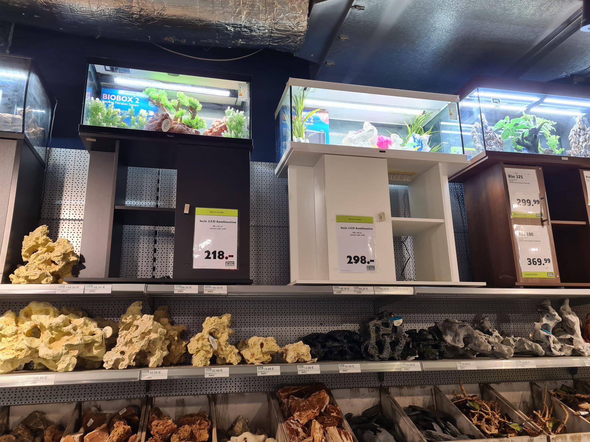 [Lokal? Dallgow bei Berlin] 20% Rabatt auf alle Aquarien, und Aquarienkombis bei Pflanzen Kölle Dallgow