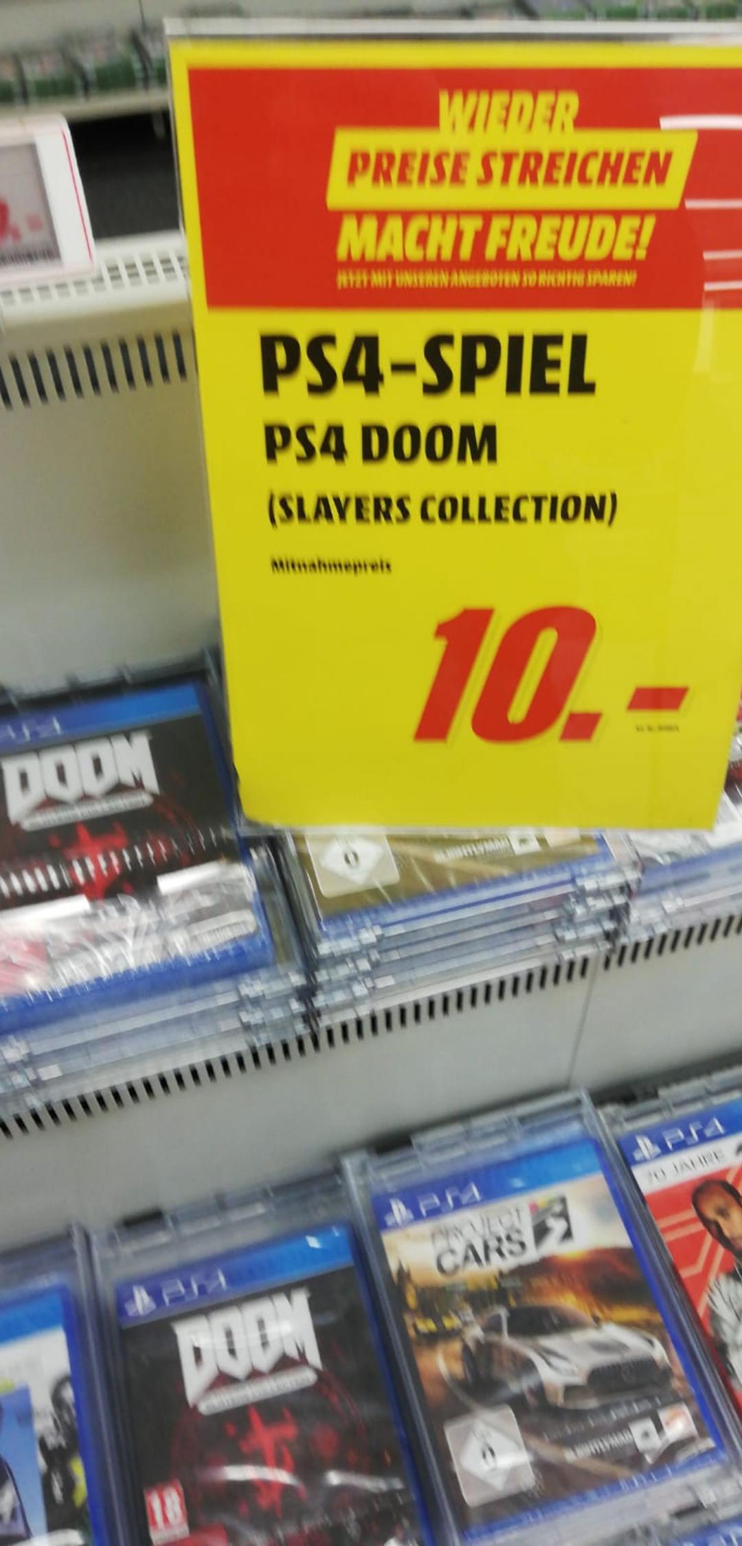 Media Markt Saarlouis Doom Slayer Collection PS4