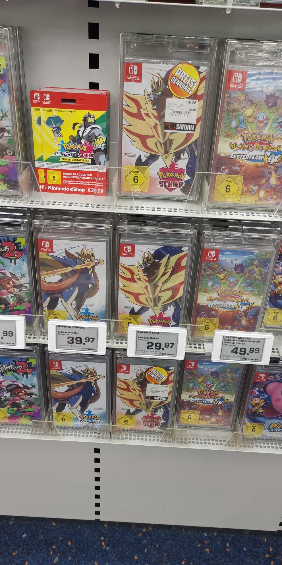 [Lokal Saturn Essen] Pokémon Schild für Nintendo Switch