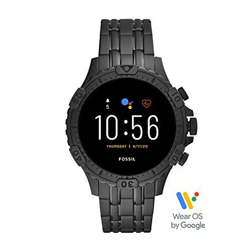 [Amazon.es] Fossil Garrett HR Smartwatch Gen 5 mit Touchscreen, Herzfrequenzmesser, GPS, NFC und Smartphone Benachrichtigungen