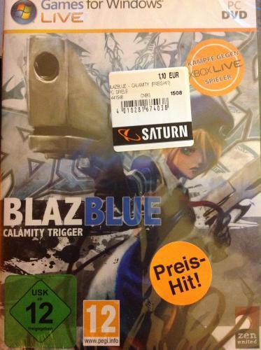 [LOKAL - DORTMUND] BlazBlue: Calamity Trigger (PC) für 1,10€ (Saturn, Innenstadt)