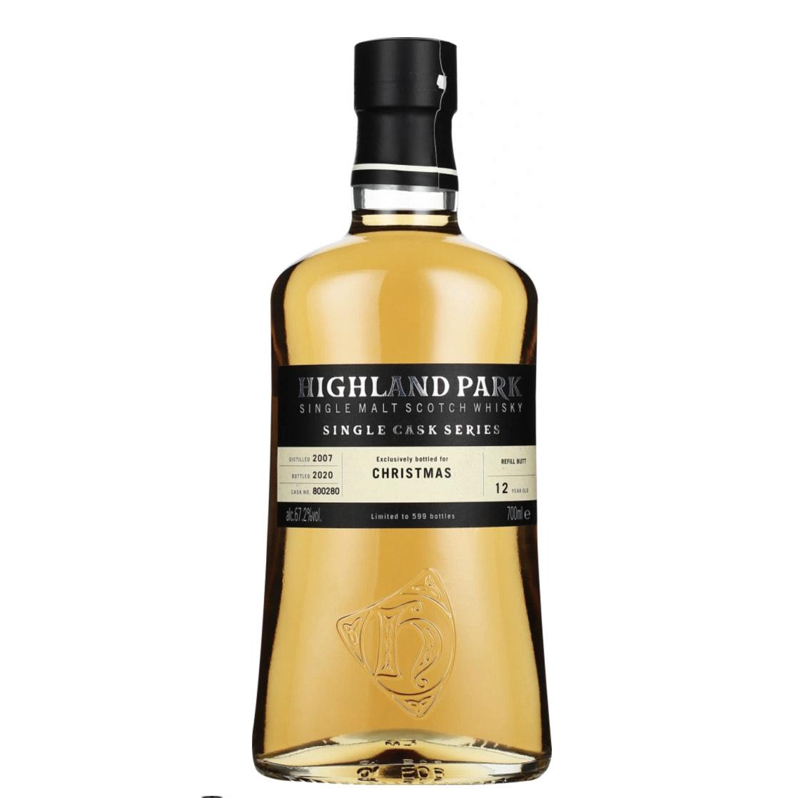 Highland Park 12 Jahre Single Cask Series Whisky (Christmas) 67,2%vol.
