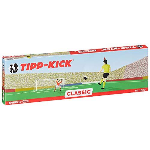(Amazon Prime) Tipp-Kick Classic (2X Spieler, 2X Torwart, 2X Plastiktor, 2X Ball, Spielfeld)