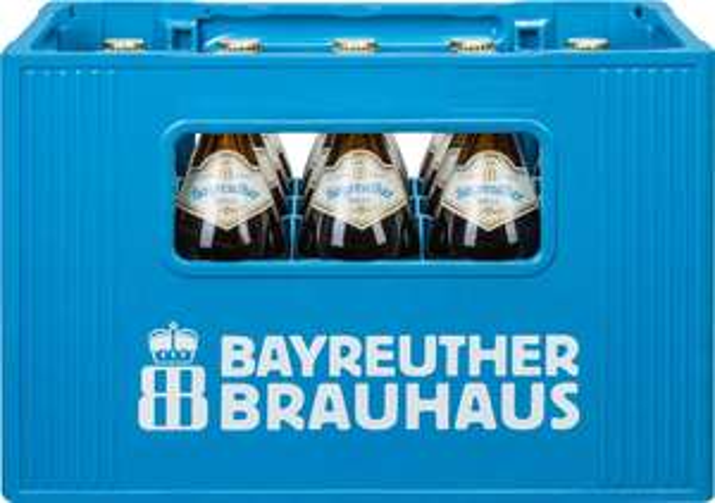 [Kaufland ab 23.11] Bayreuther Hell oder Aktien Zwick´l -20 x 0,5 L für 12€