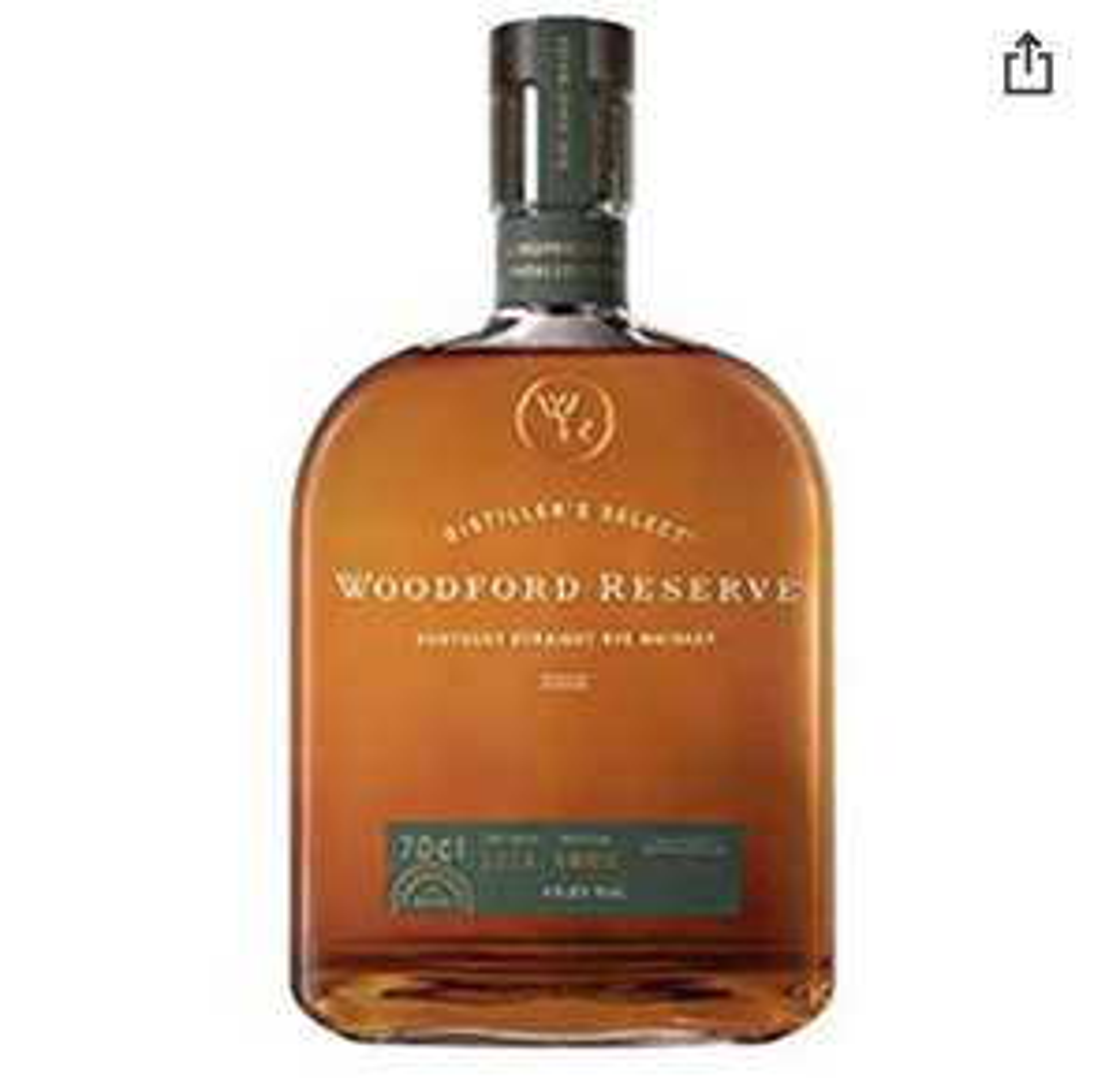 Woodford Reserve Kentucky Straight Rye Whiskey | 45,2 % vol | 0,7 l