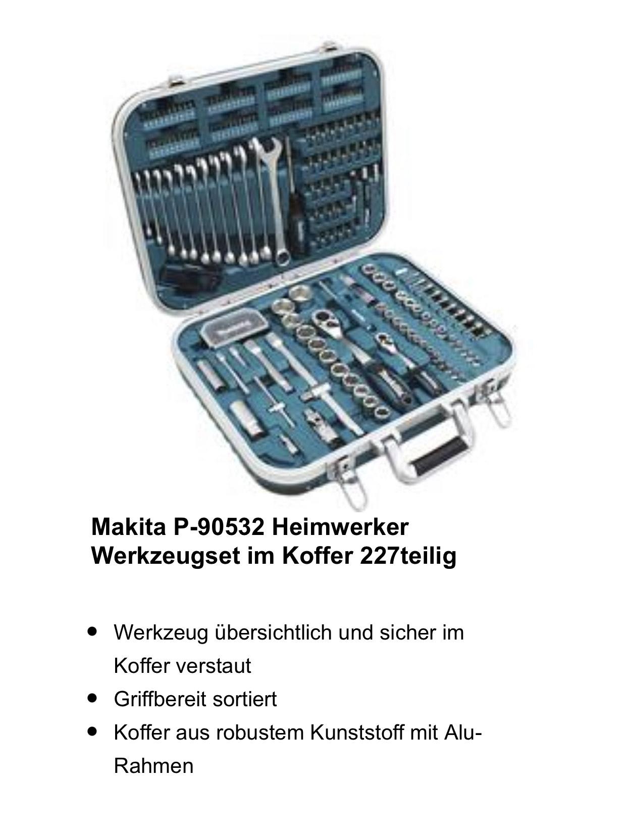 Makita P-90532 Werkzeug-Set im Koffer