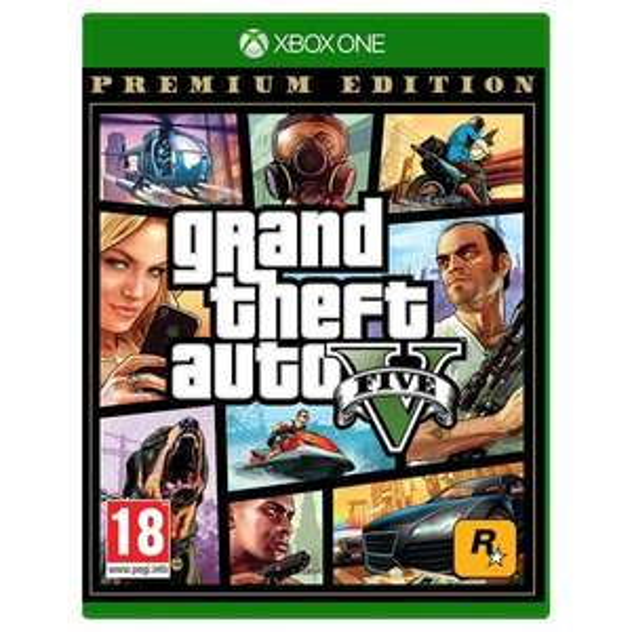 Grand Theft Auto V - Premium Edition (PEGI) [Xbox One]