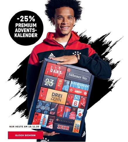 FC Bayern München Premium Adventskalender