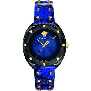 Versace Ladies Shadov Watch VEBM00418 - Quarz Uhr, 38mm, 50m, Saphirkristall-Glas