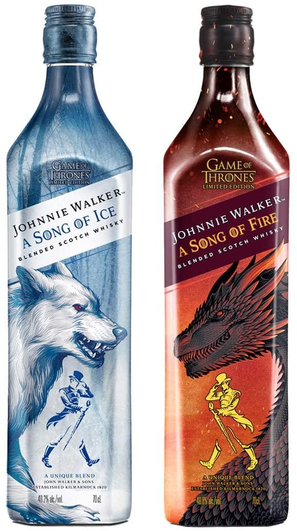 (Prime) Johnnie Walker A Song of Fire für 15,75€ oder Johnnie Walker A Song of Ice – Blended Scotch Whisky