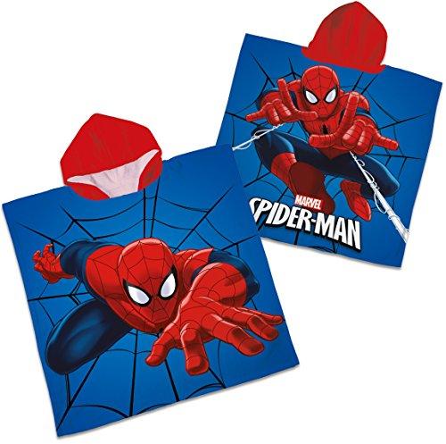 Badeponcho für Kids: Spiderman // 100% Baumwolle, versandkostenfrei