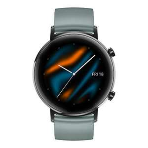 [Amazon.es] HUAWEI Watch GT 2 Smartwatch (42 mm Full-Color-AMOLED Touch, SpO2-Monitoring, Herzfrequenz, 5ATM wasserdicht, GPS) Lake Cyan