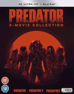 Predator Trilogy (4K Blu-ray + Blu-ray) für 25,76€ inkl. Versand (Amazon UK)