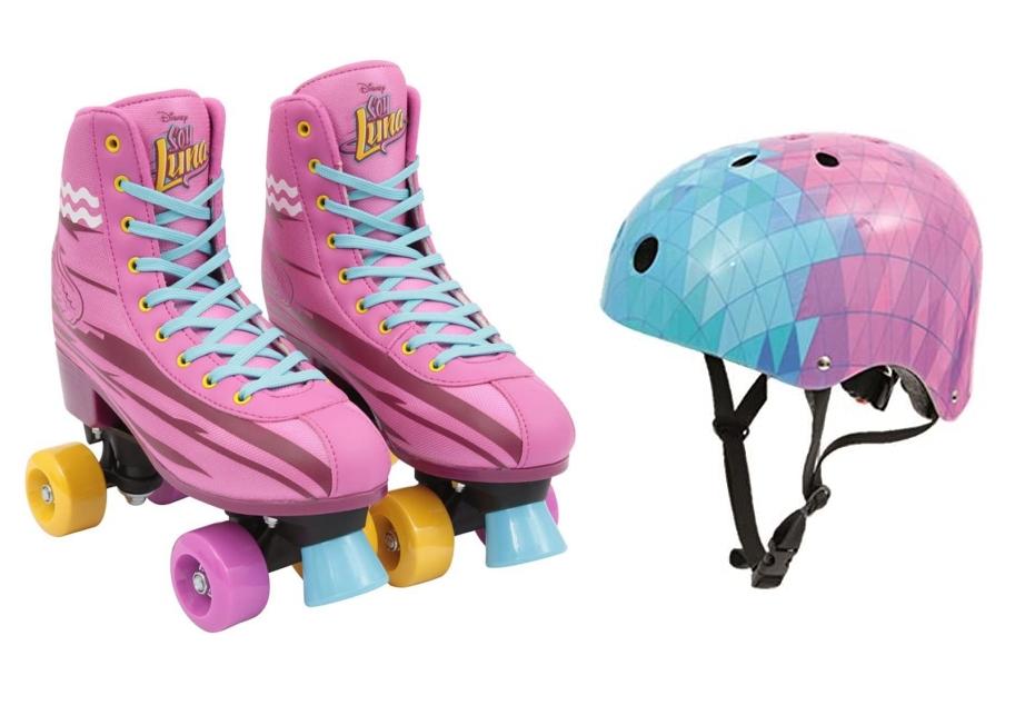 Soy Luna Disney Trainings-Rollschuhe (Größe 36/37) + Helm für 29.99€ oder Einzelkauf Helm für 14.99€, Rollschuhe für 22.99€ [DEALCLUB]