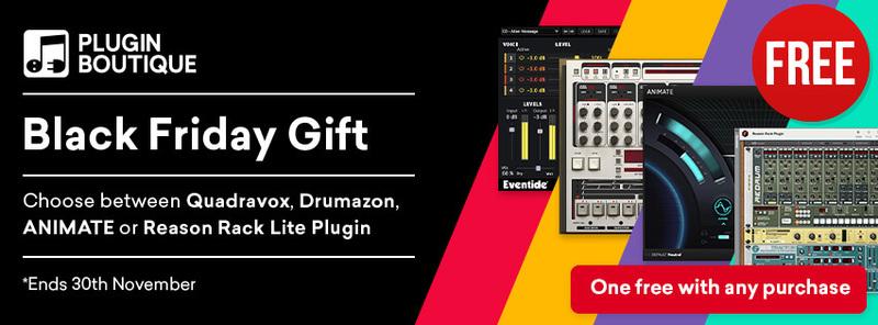 [VST] Pro Kauf ein Plugin frei, auszuwählen aus: Eventide Quadravox, D16 Group Drumazon, Mastering the Mix ANIMATE oder Reason Rack Plugin)