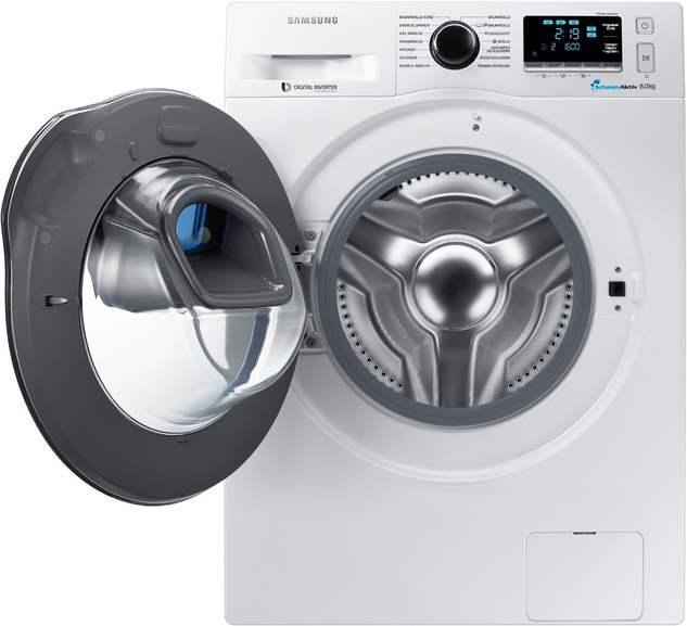 Samsung Stand-Waschmaschine-Frontlader WW8GK6400QW
